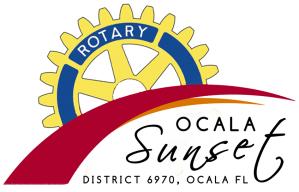 Sunset Rotary Logo